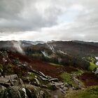 Descent from Loughrigg Fell Toward Grasmere by Stuart1882