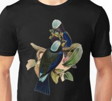 purple winged rollers with frog Unisex T-Shirt