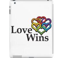 Love wins, #lovewins iPad Case/Skin
