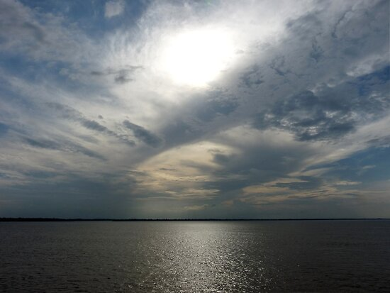 Clouds Over the Amazon River by Lucinda Walter