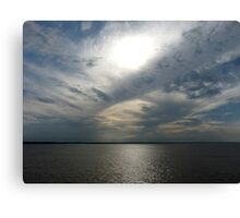 Clouds Over the Amazon River Canvas Print