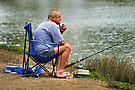 Fishing the Maribyrnong River at Essendon by Darren Stones