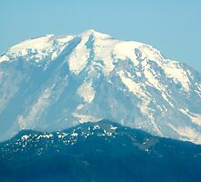 Mount Rainier Peak by Stacey Lynn Payne