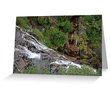 Narada Falls, Mount Rainier National Park Greeting Card