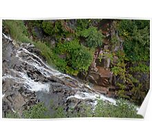 Narada Falls, Mount Rainier National Park Poster