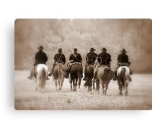 Civil War Ending Canvas Print