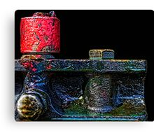 Detail from Engine 473 II Canvas Print