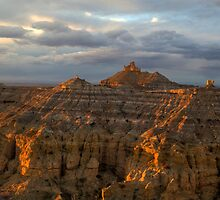 Golden Hour at Angel's Peak by Mitchell Tillison