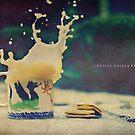 Coffee Splash #3 by Sid Black