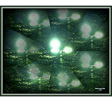 Illusions of Street Lights Photographic Print
