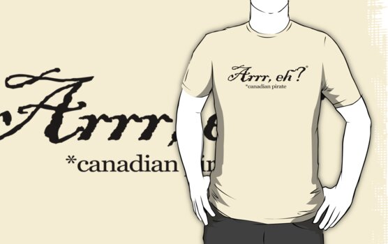 Arrr, eh? *canadian pirate by digerati