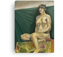 Female Nude 2 Canvas Print