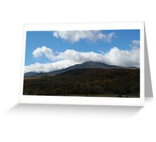 Majestic Mount Washington Greeting Card