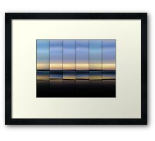 The Hour Before Darkness Framed Print