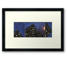 time and space to breathe... (triptych) Framed Print