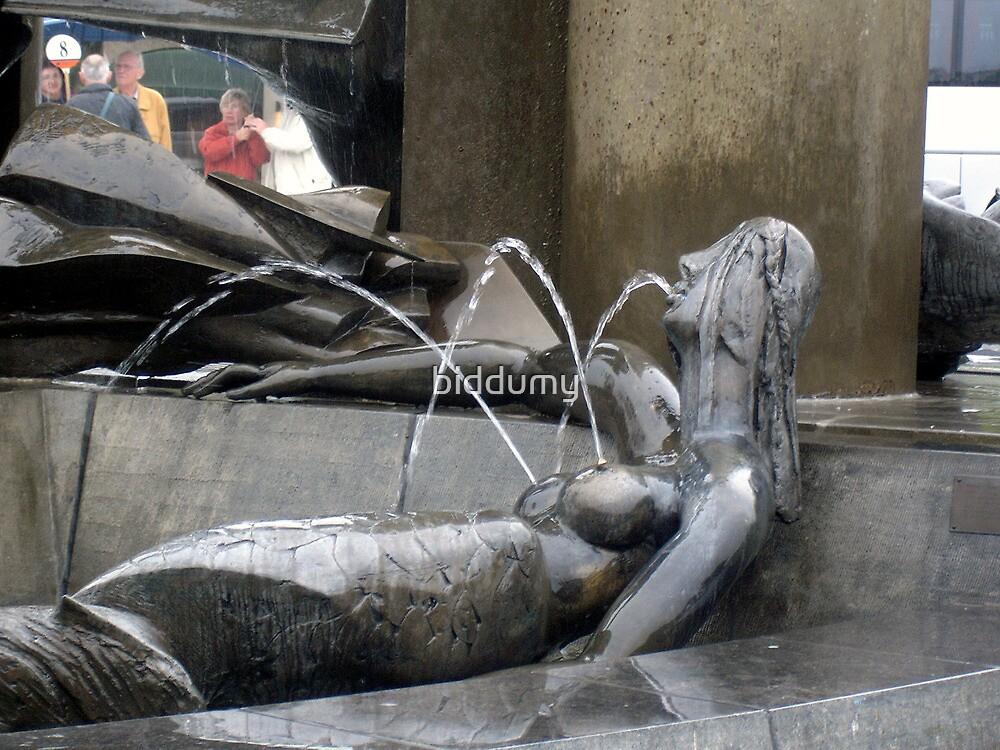 A Drunk Mermaid by biddumy