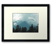 Rocky Mountains, Canada Framed Print