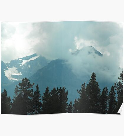 Rocky Mountains, Canada Poster