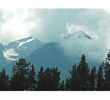 Rocky Mountains, Canada Photographic Print
