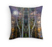 what leafless trees reveal Throw Pillow
