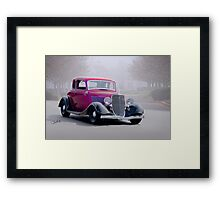 1934 Ford '5 Window' Coupe Framed Print