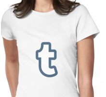 Tumblr t Womens Fitted T-Shirt