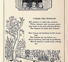 Miniature Under the Window Pictures & Rhymes for Children Kate Greenaway 1880 0007 Under The Window by wetdryvac