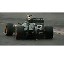 Heikki Kovalainen 2010 Aust GP Photographic Print