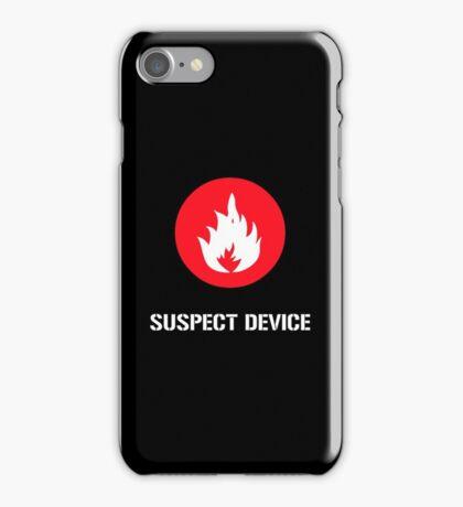 Suspect Device iPhone Case/Skin