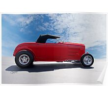 1932 Ford 'Top Up' Roadster Poster