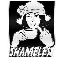 Shameless (dark) Poster