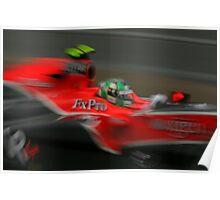 Virgin Racing Aust GP 2010 Poster