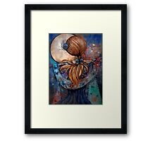 Dancing with the Moon Framed Print