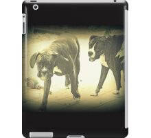 Boxers At Play iPad Case/Skin