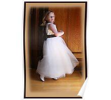 Dancing Flower Girl Poster