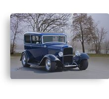 1932 Ford 'River City' Sedan Canvas Print