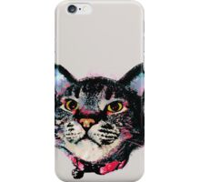 Cuddles Pop Art Cat iPhone Case/Skin