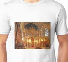 Inside the Orthodox Cathedral of St George, Novi Sad Unisex T-Shirt