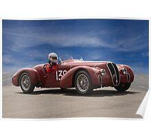 1939 Alfa Romeo 6C 2500 SS Poster