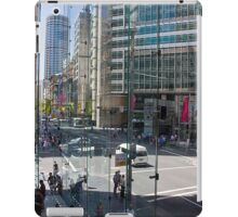 Downtown through Glass iPad Case/Skin