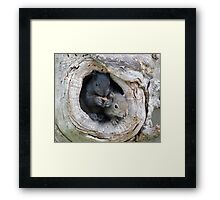 So This Is The World Uh?  Yup! Framed Print