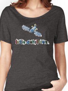 Little Satellites - Sketchy V-Neck Women's Relaxed Fit T-Shirt