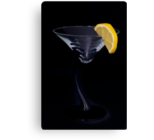 Sweet and Sour Martini Canvas Print