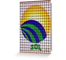 Sun Rising in Clave Sol Greeting Card