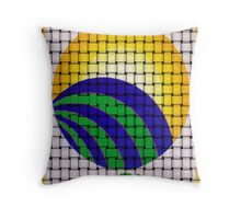 Sun Rising in Clave Sol Throw Pillow
