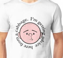 Advice from a cabbage - Pilkology Unisex T-Shirt