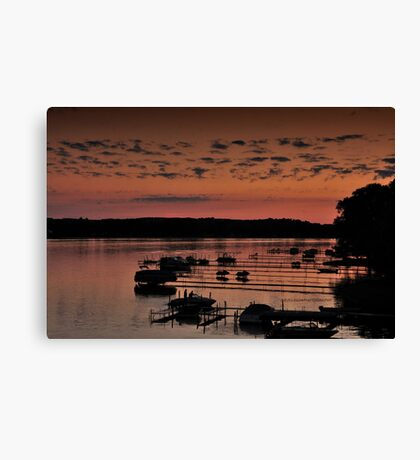 Chautauqua lake Canvas Print