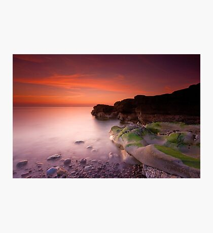 Sunset on Parton Beach Photographic Print