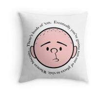 Biscuits - Pilkology Throw Pillow