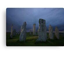 The Standing Stones of Callanish Canvas Print